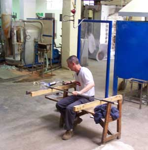 Glass Blower - Waterford Crystal Factory