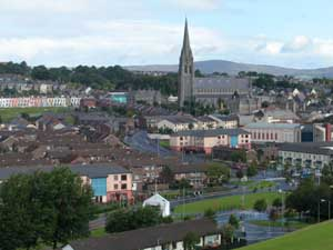 Derry - view of Bogside