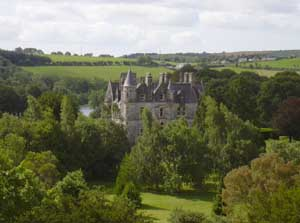 View of Abbey from Blarney Castle