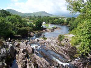 Camping by river - Ring of Kerry