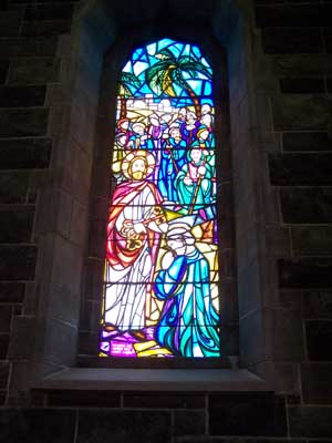 Galway Cathedral Stained Glass Window