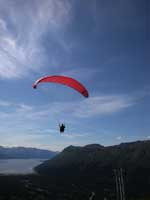 Dan Paragliding at Girdwood