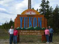 Arriving in the Yukon